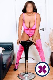 Busty Naomi is a sexy Caribbean Escort in London
